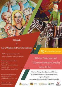 Cartel Presentación Jornadad ODS Cabeza del Buey