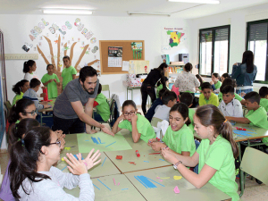 Jornada ODS en el CEIP San Isidro de Valdivia