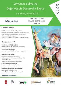 Cartel Jornadas ODS Miajadas
